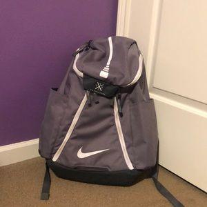 Nike quad zip back pack